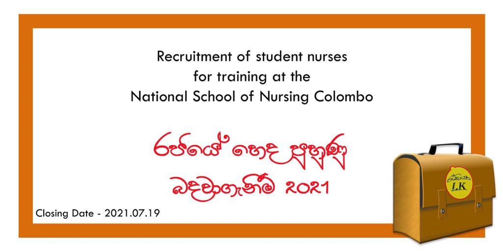 government nursing application 2021